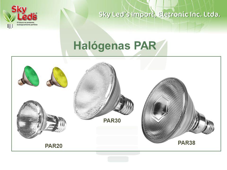 Halógenas PAR par PAR30 PAR38 PAR20
