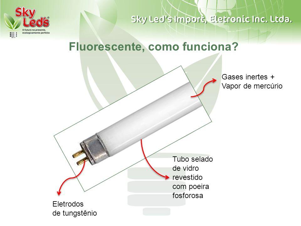 Fluorescente, como funciona