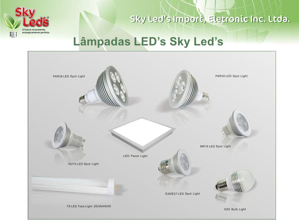 Lâmpadas LED's Sky Led's
