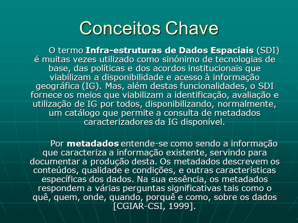 Conceitos Chave