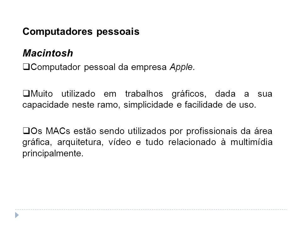 Computadores pessoais Macintosh