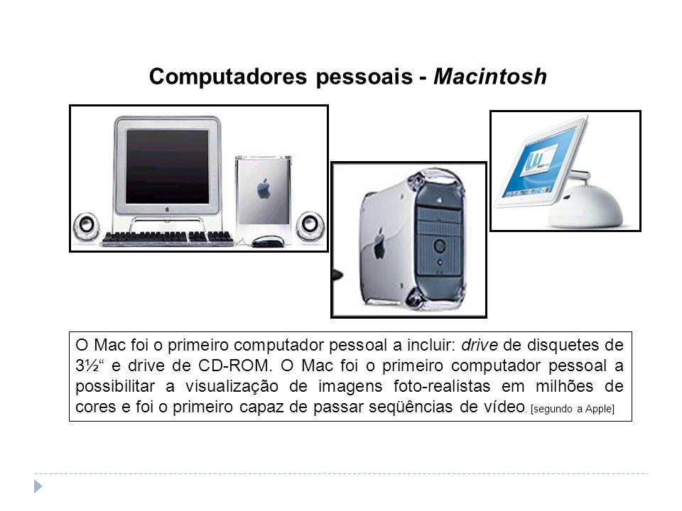 Computadores pessoais - Macintosh