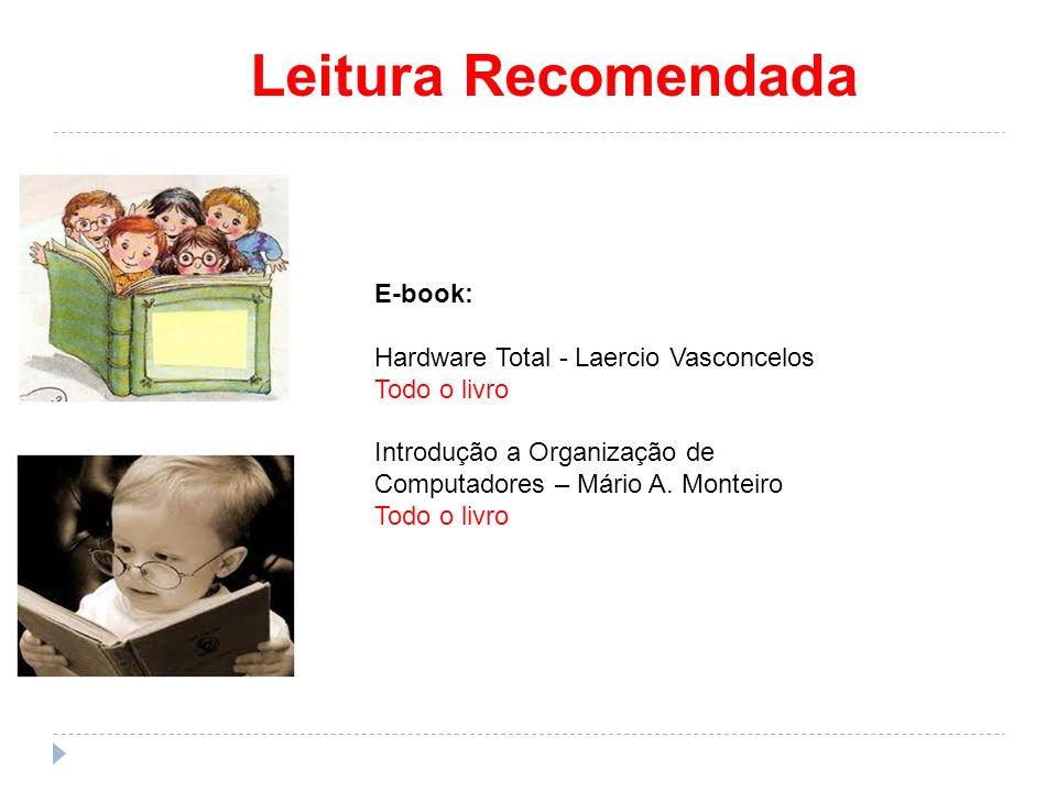 Leitura Recomendada E-book: Hardware Total - Laercio Vasconcelos