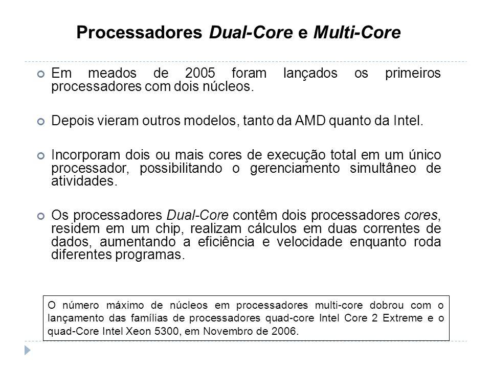 Processadores Dual-Core e Multi-Core