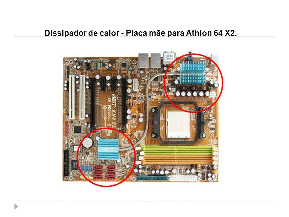 Dissipador de calor - Placa mãe para Athlon 64 X2.