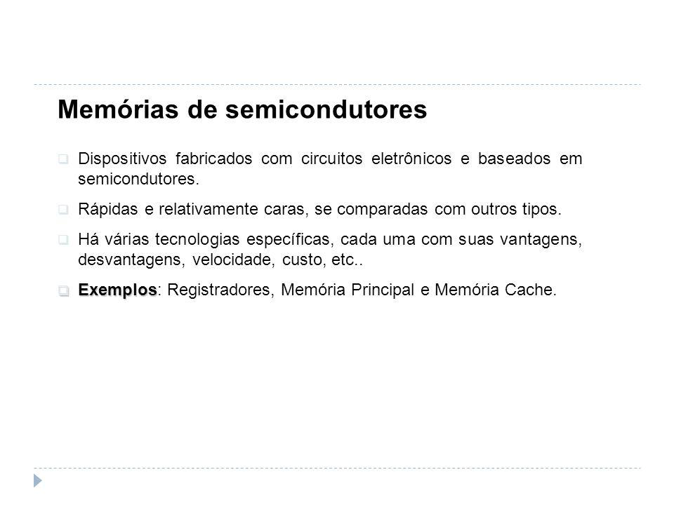 Memórias de semicondutores