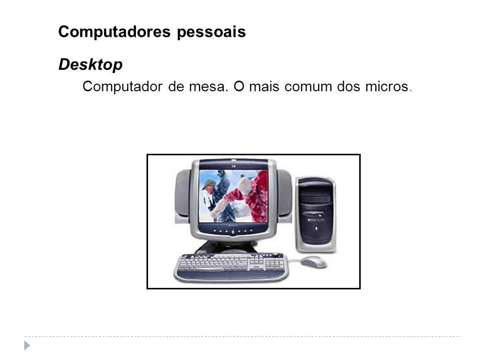 Computadores pessoais Desktop
