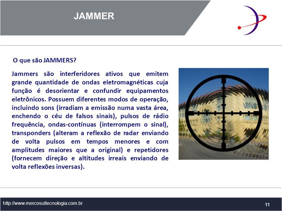 JAMMER O que são JAMMERS