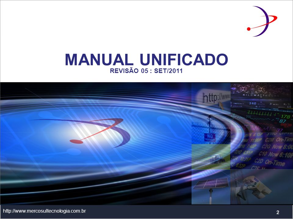 MANUAL UNIFICADO REVISÃO 05 : SET/2011