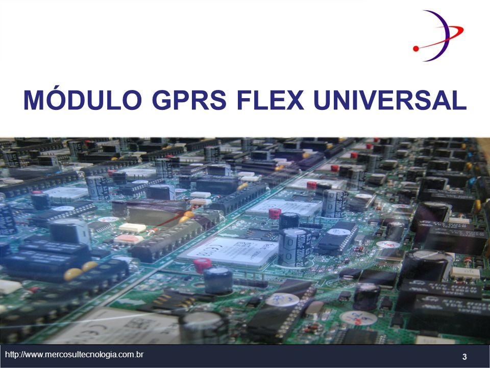 MÓDULO GPRS FLEX UNIVERSAL