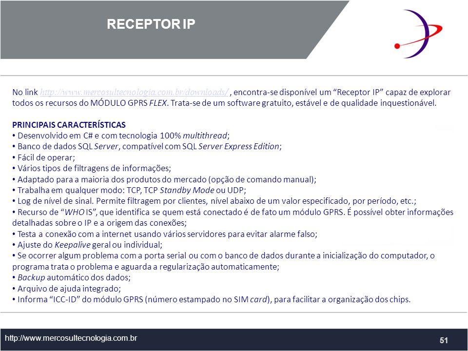 RECEPTOR IP