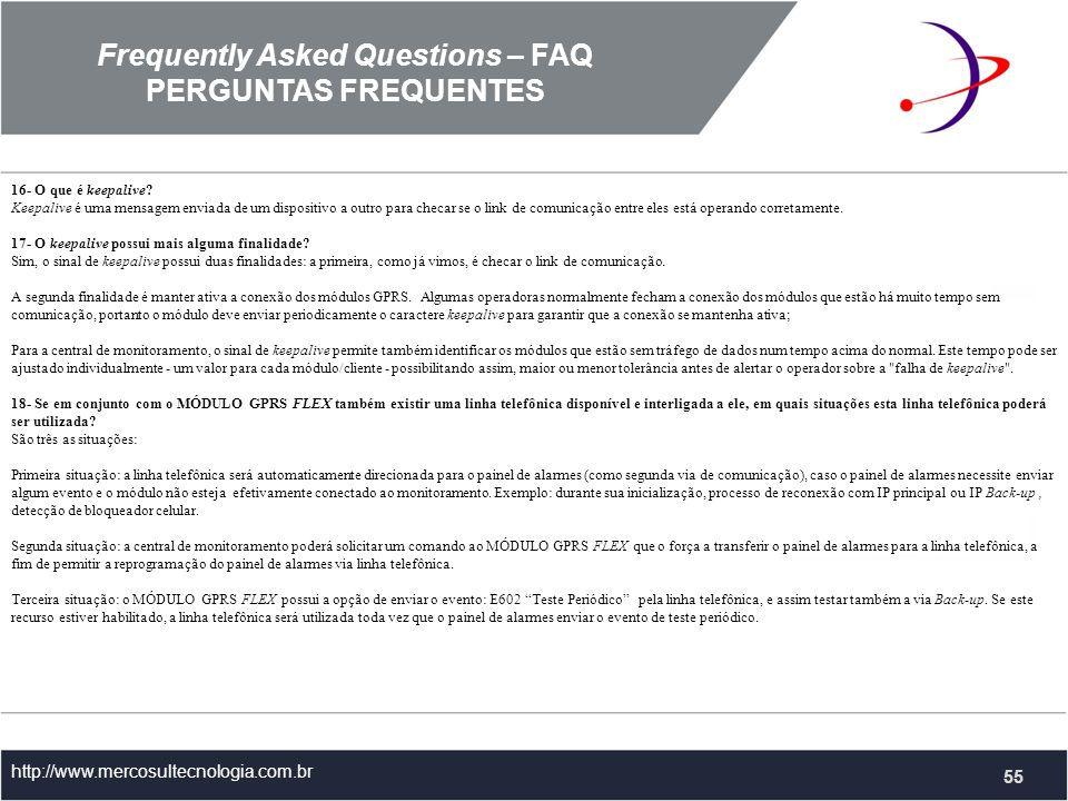 Frequently Asked Questions – FAQ
