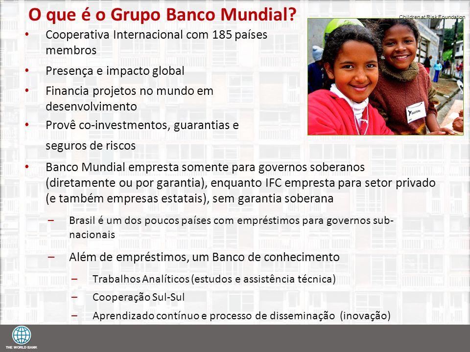 O que é o Grupo Banco Mundial
