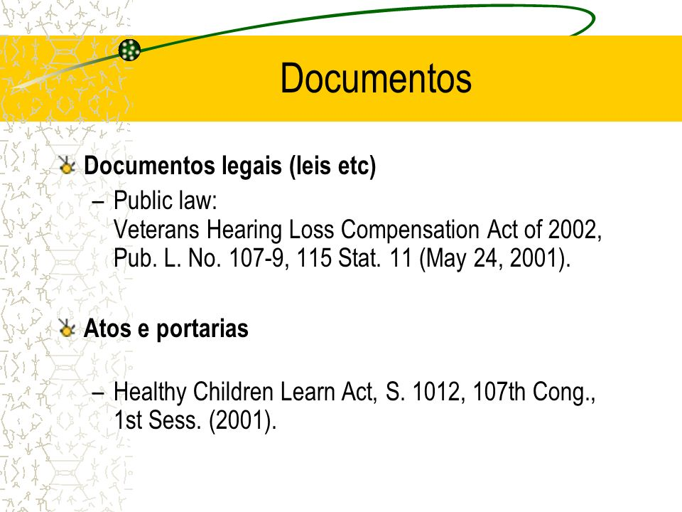 Documentos Documentos legais (leis etc)