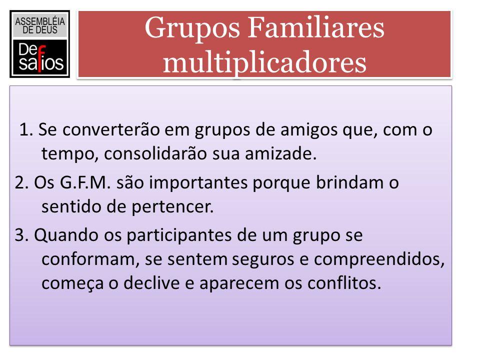 Grupos Familiares multiplicadores