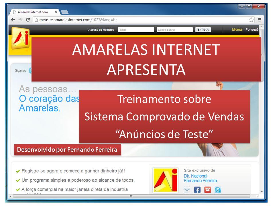 AMARELAS INTERNET APRESENTA