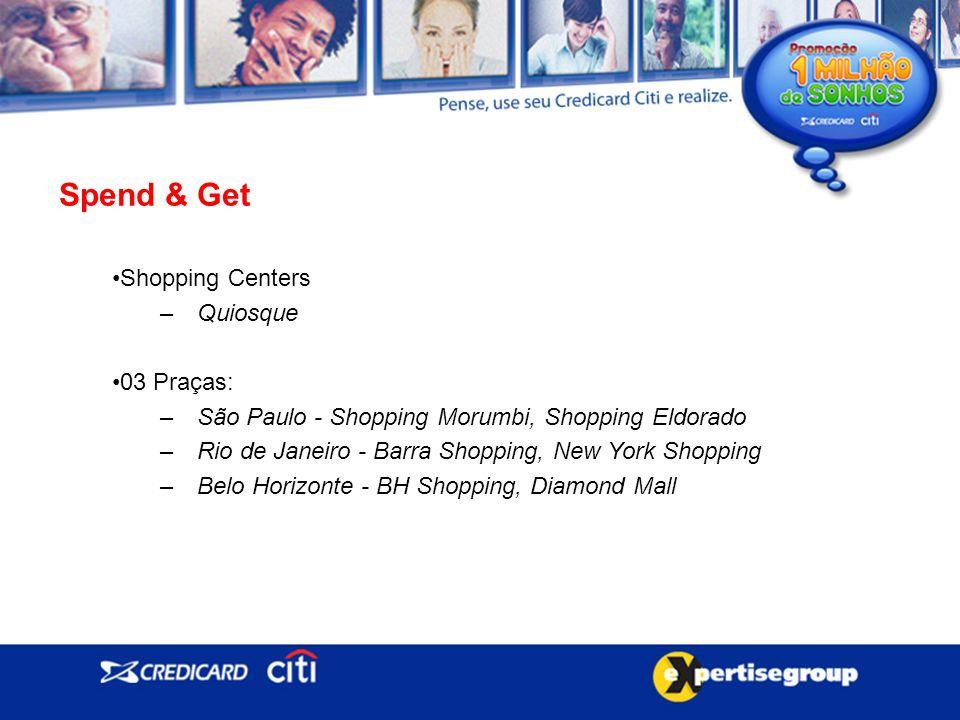 Spend & Get Shopping Centers Quiosque 03 Praças: