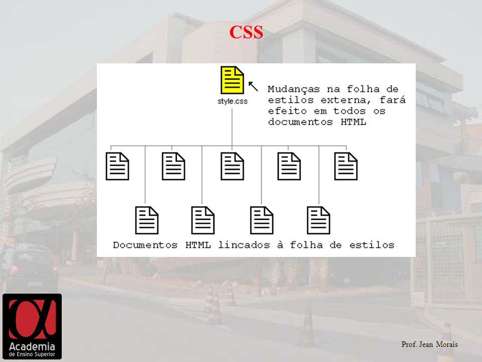 CSS Prof. Jean Morais