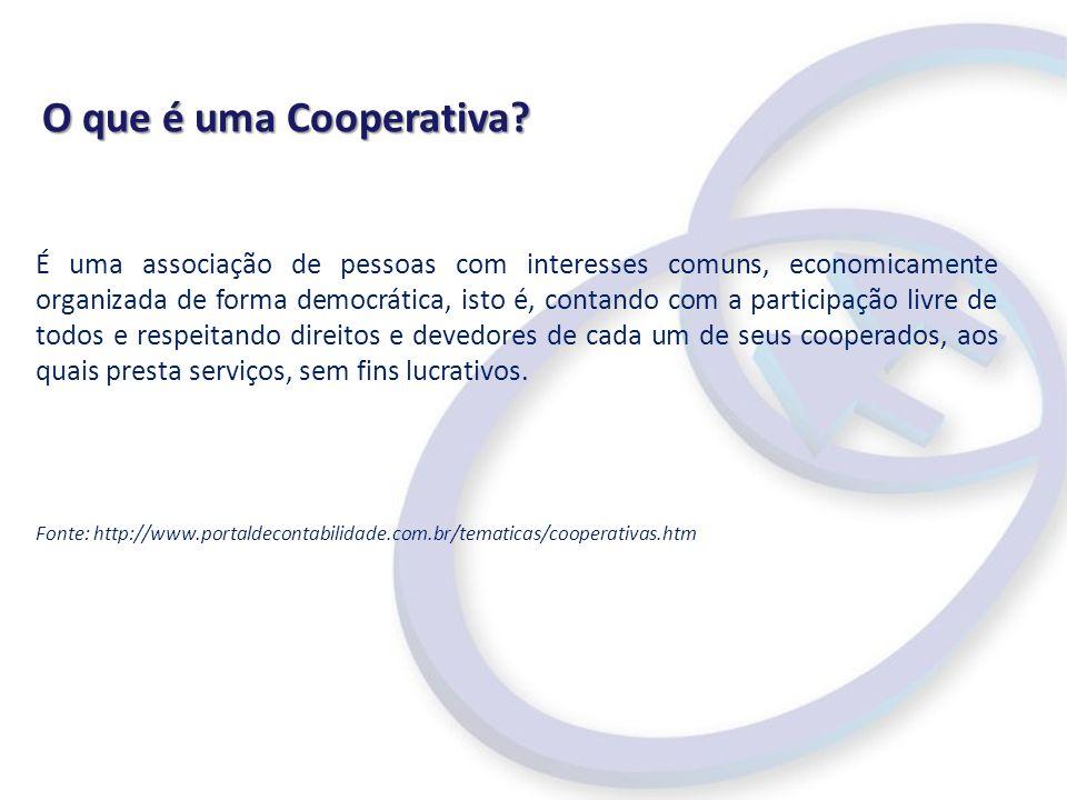 O que é uma Cooperativa