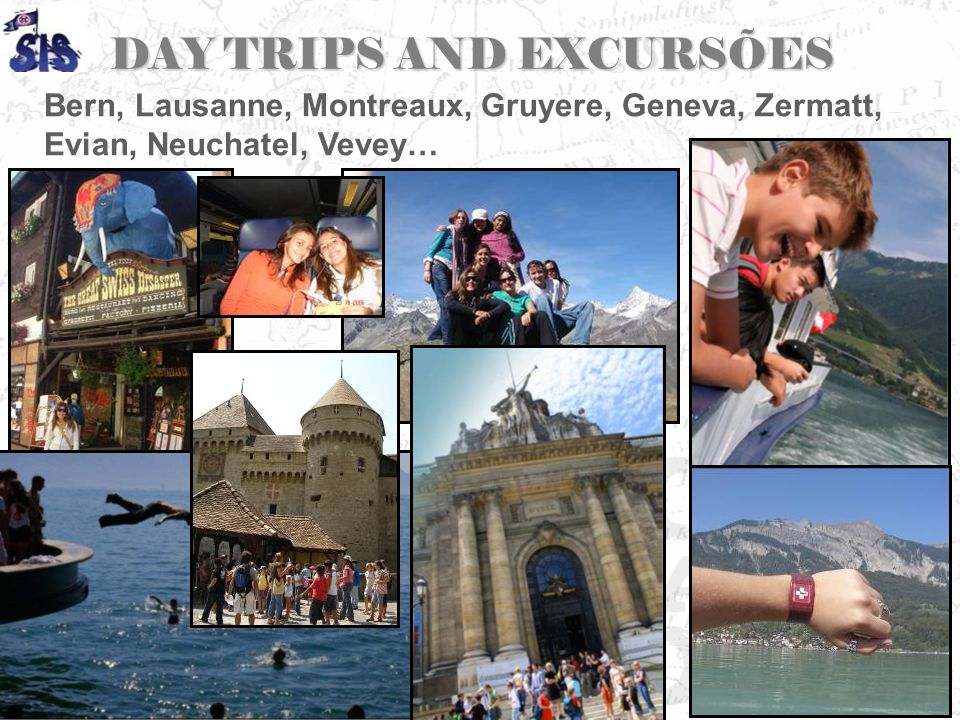 DAY TRIPS AND EXCURSÕES