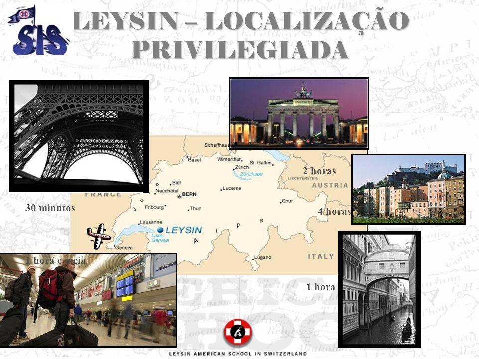 LEYSIN – LOCALIZAÇÃO PRIVILEGIADA