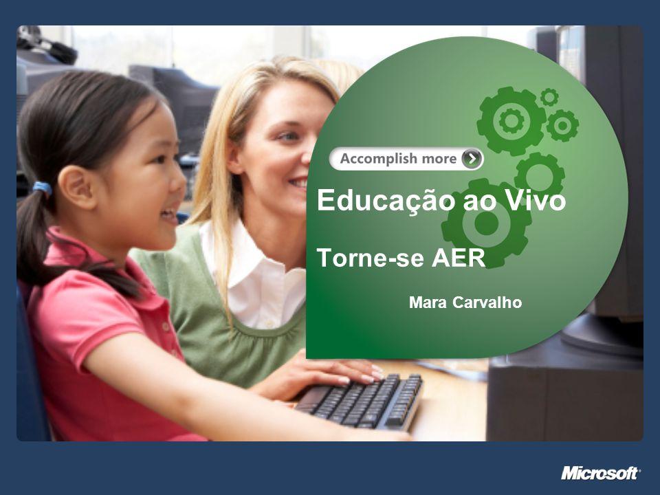 Educação ao Vivo Torne-se AER