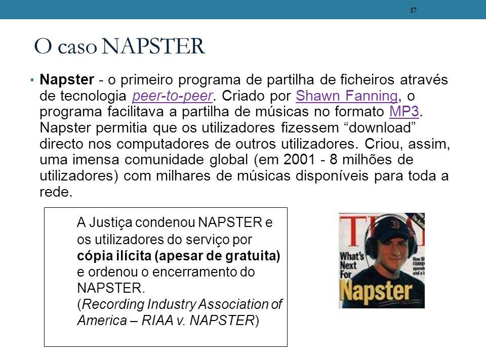 O caso NAPSTER
