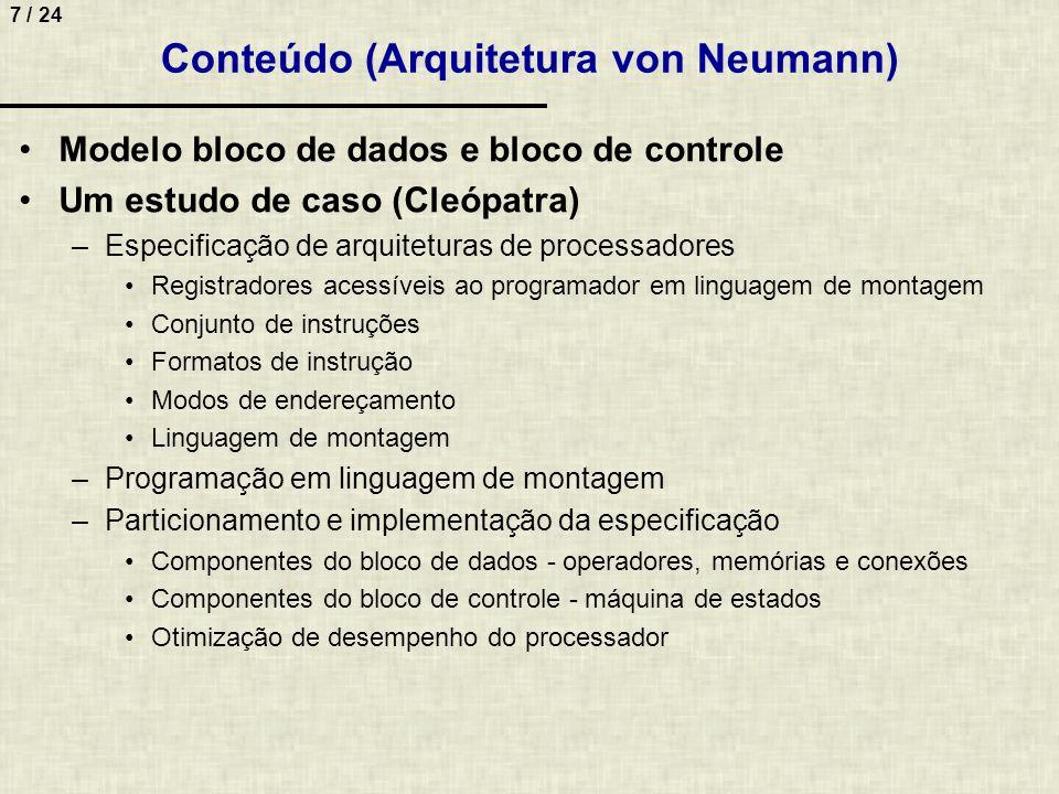 Conteúdo (Arquitetura von Neumann)