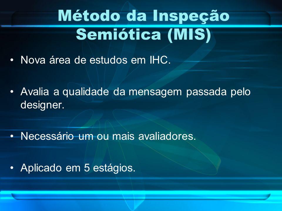Método da Inspeção Semiótica (MIS)