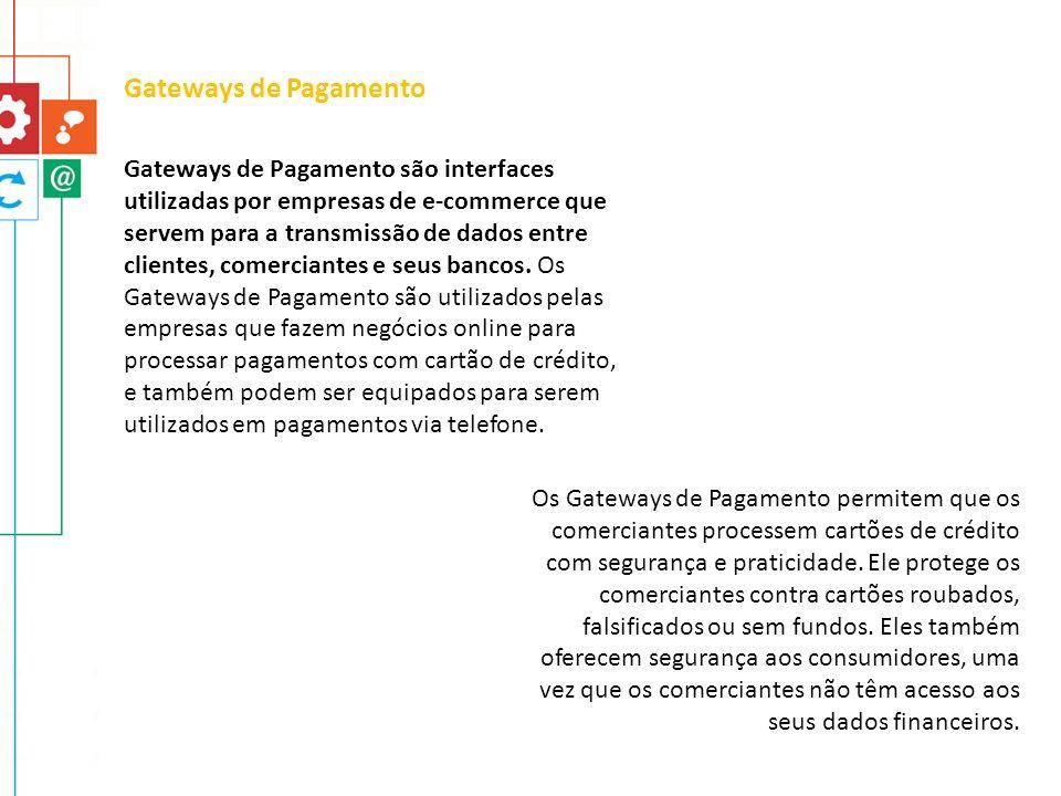 Gateways de Pagamento