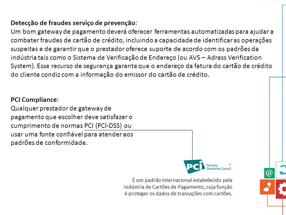 Detecção de fraudes serviço de prevenção: