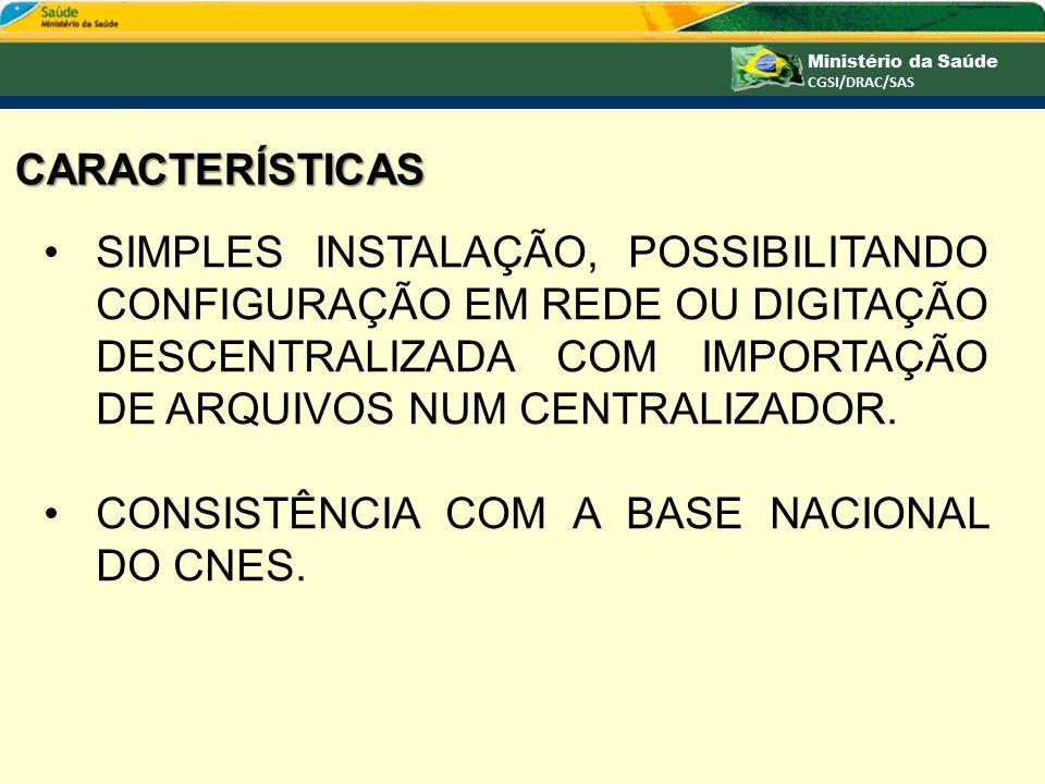 CARACTERÍSTICAS SIMPLES INSTALAÇÃO, POSSIBILITANDO CONFIGURAÇÃO EM REDE OU DIGITAÇÃO DESCENTRALIZADA COM IMPORTAÇÃO DE ARQUIVOS NUM CENTRALIZADOR.