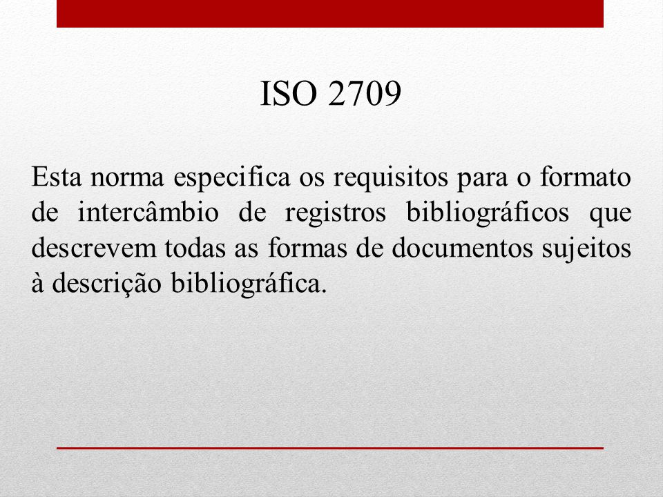 ISO 2709