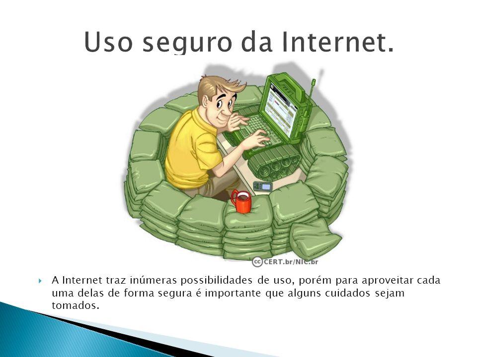 Uso seguro da Internet.