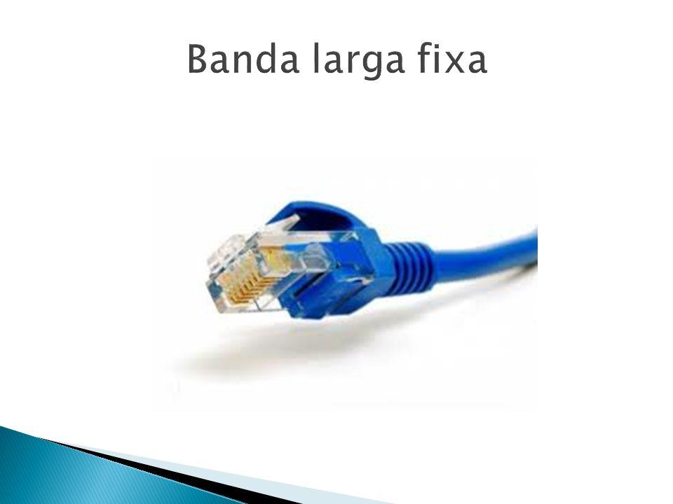 Banda larga fixa