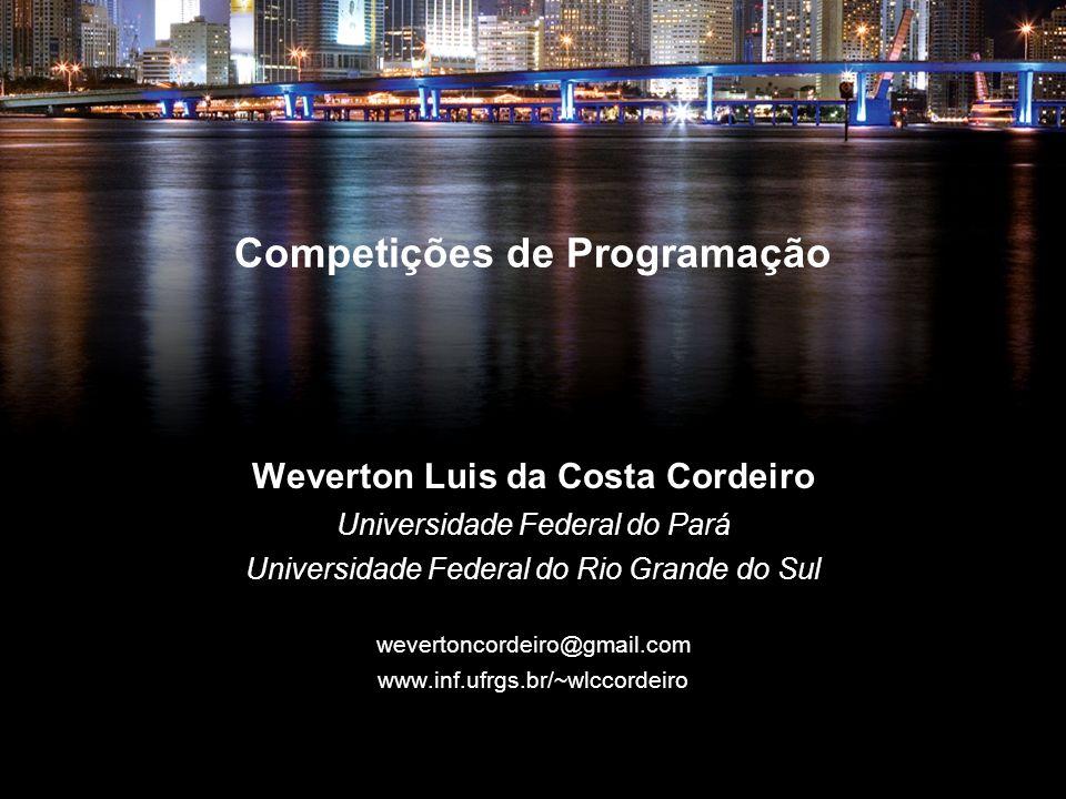Competições de Programação