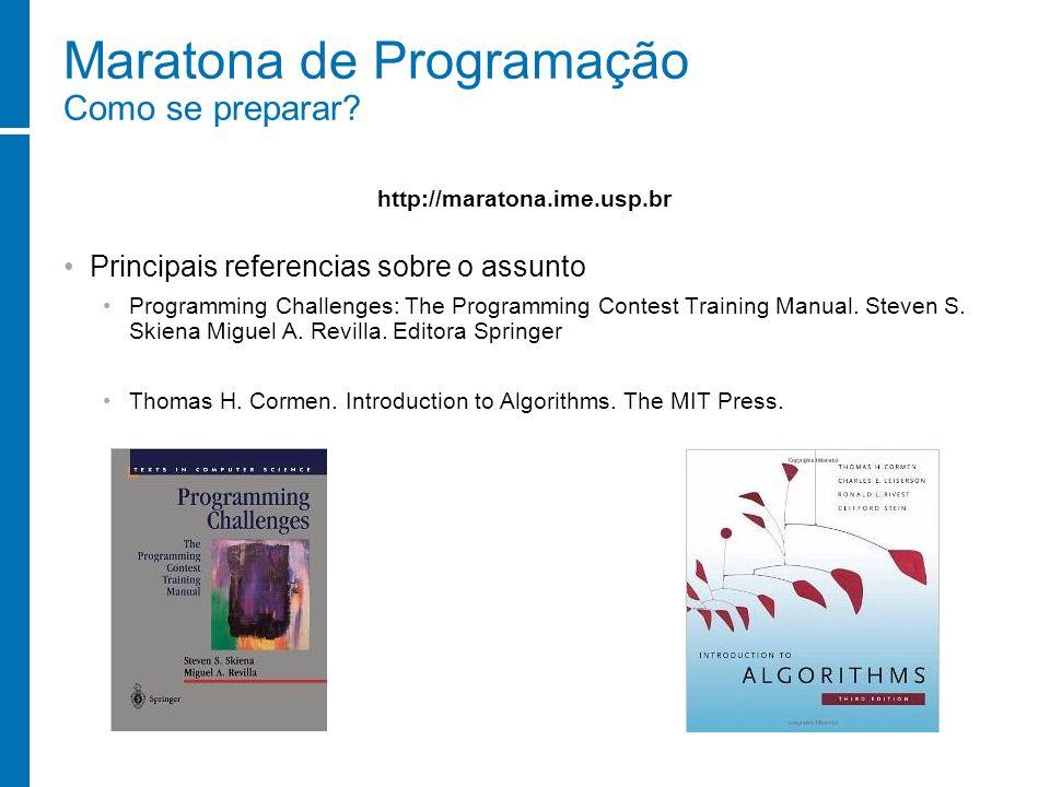 Maratona de Programação Como se preparar