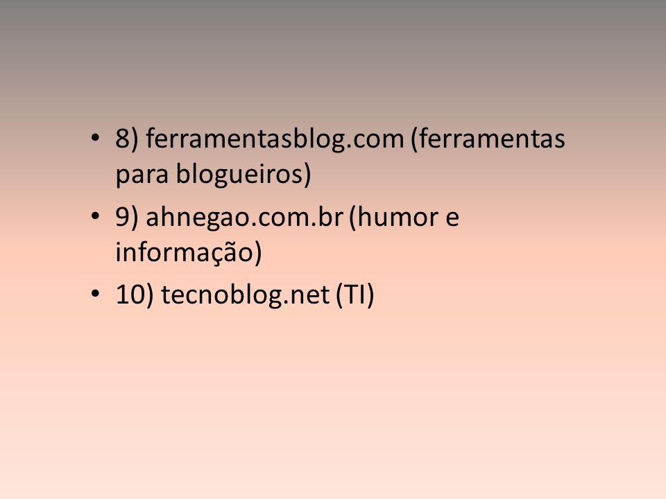8) ferramentasblog.com (ferramentas para blogueiros)