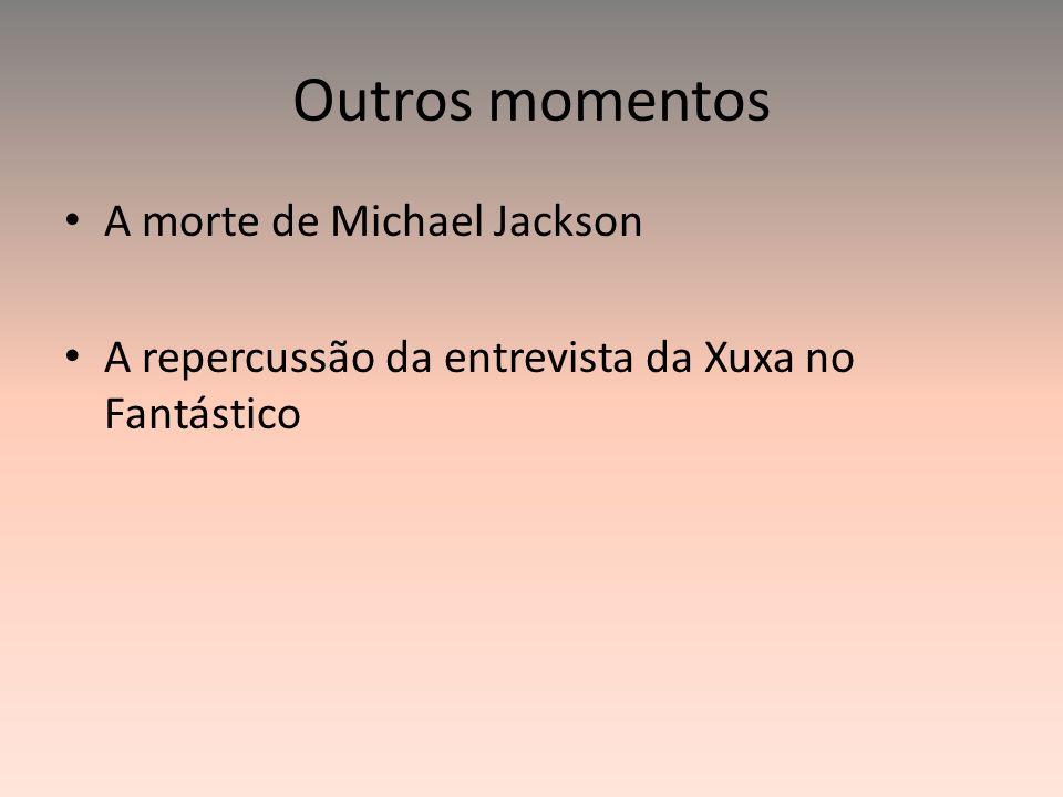 Outros momentos A morte de Michael Jackson