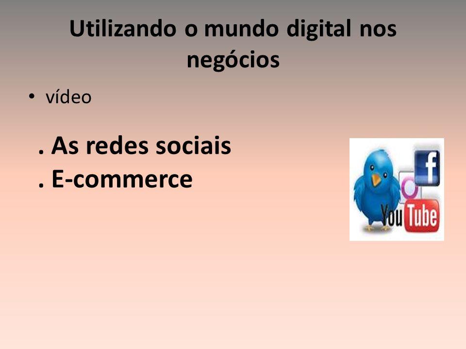 Utilizando o mundo digital nos negócios