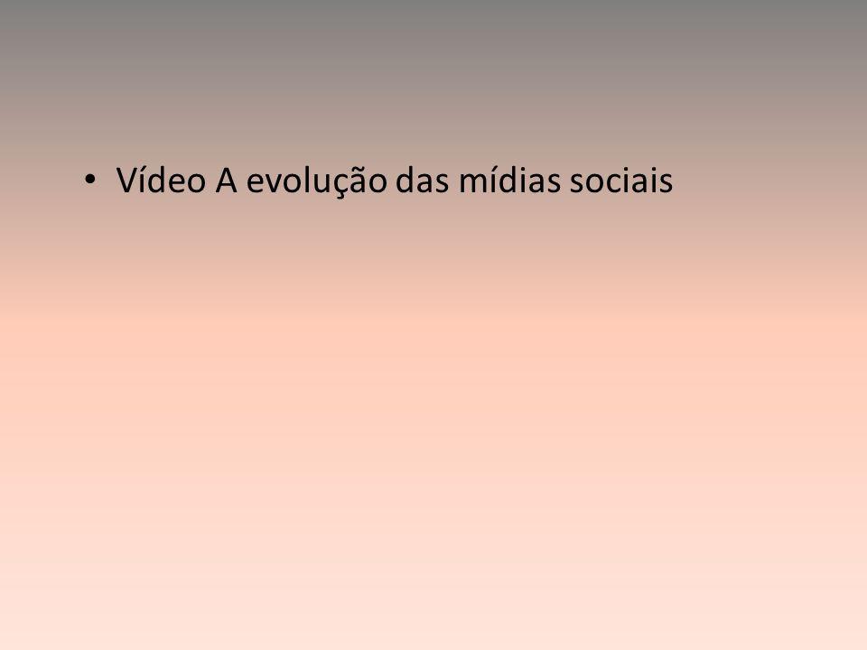 Vídeo A evolução das mídias sociais