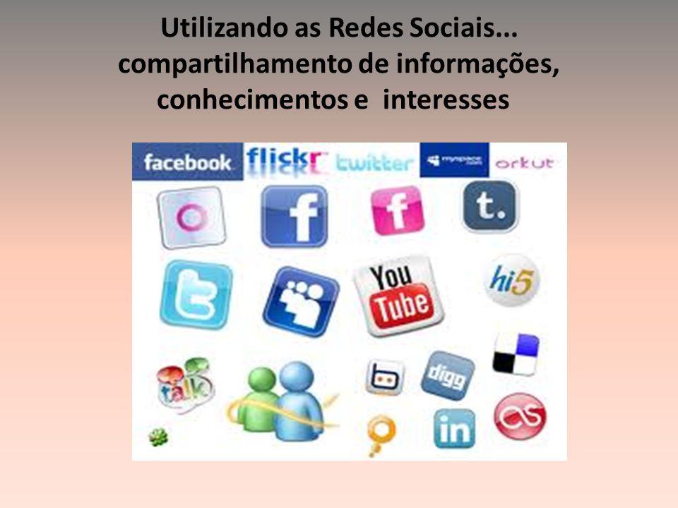Utilizando as Redes Sociais