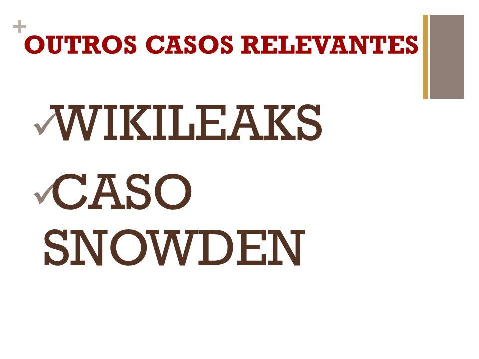 OUTROS CASOS RELEVANTES