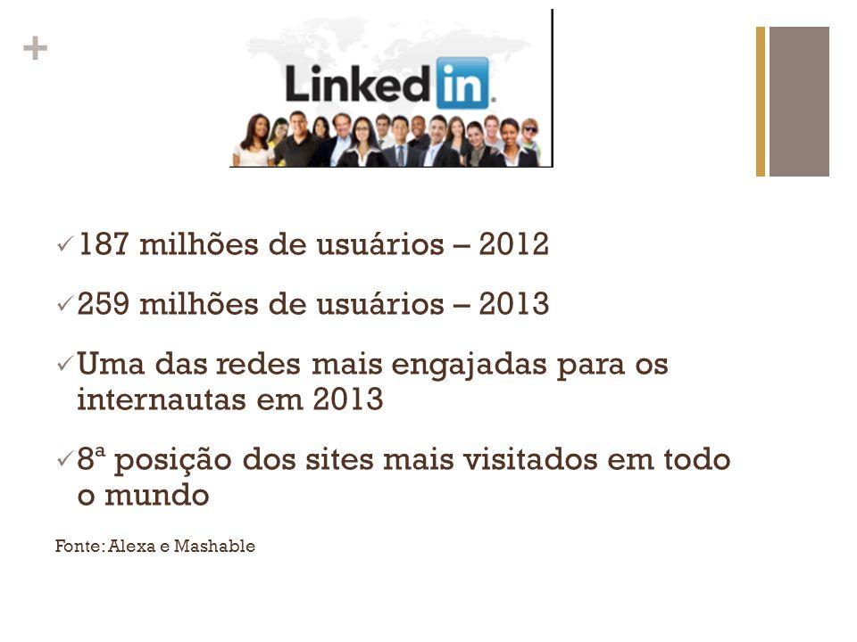 Uma das redes mais engajadas para os internautas em 2013