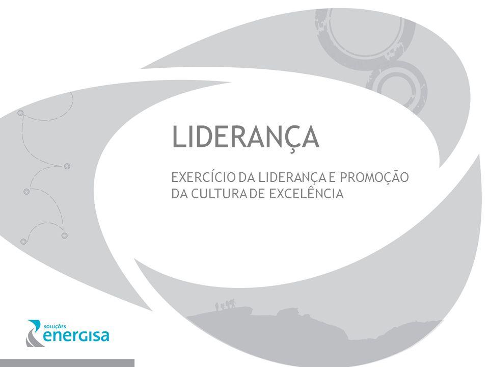 LIDERANÇA EXERCÍCIO DA LIDERANÇA E PROMOÇÃO DA CULTURA DE EXCELÊNCIA