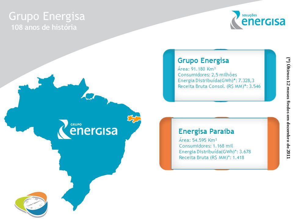 Grupo Energisa 108 anos de história Grupo Energisa Energisa Borborema