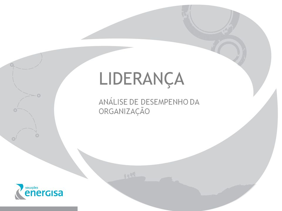 LIDERANÇA ANÁLISE DE DESEMPENHO DA ORGANIZAÇÃO
