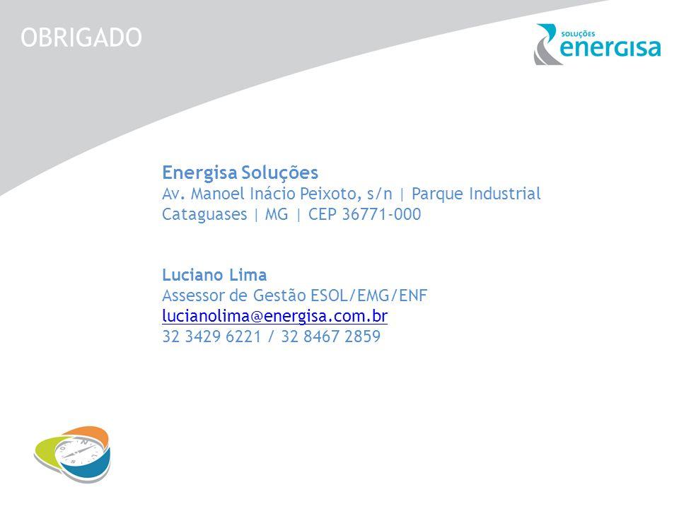 OBRIGADO Energisa Soluções