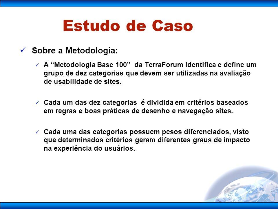 Estudo de Caso Sobre a Metodologia: