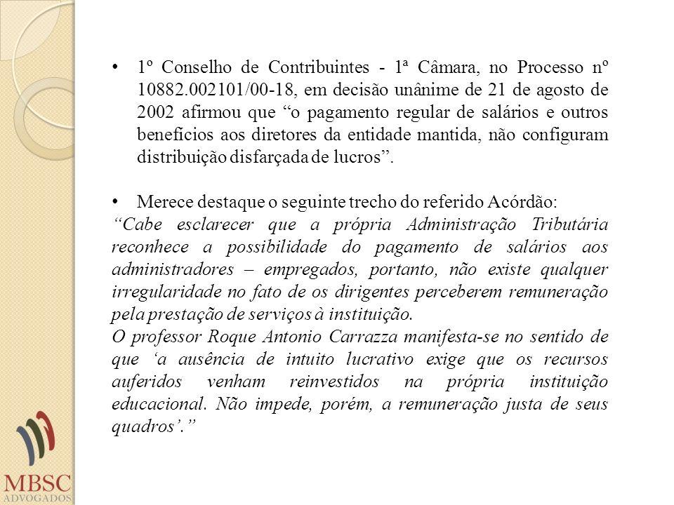 1º Conselho de Contribuintes - 1ª Câmara, no Processo nº 10882